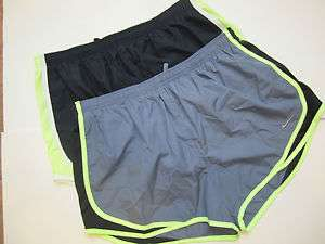 NWT Nike Womens Dri Fit Running Shorts w/Attached underpants XL