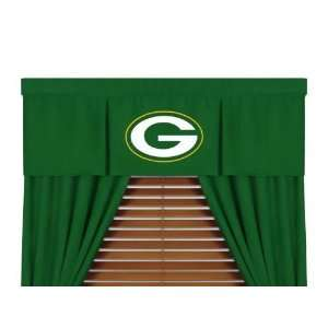 Green Bay Packers MVP Window Treatment Valance Only