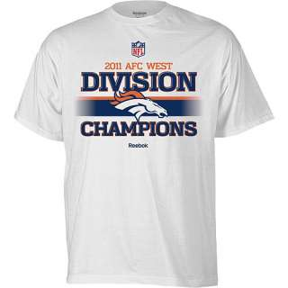 Reebok 2011 Denver Broncos Division Champions Youth Trophy Collection