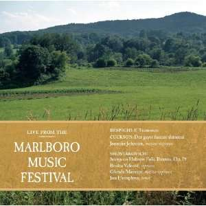 : Marlboro Music Festival Live, Vol. 2: Jennifer Johnson, Benita