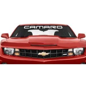 Chevy Camaro Round Style Windshield Banner Vinyl Wall Decal