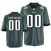 Mens Nike Philadelphia Eagles Customized Game Team Color Jersey (S