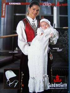 CHRISTENING GOWN CROCHET KNITTING PATTERNS Exquisite Gowns~Bonnets+
