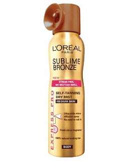 LOréal Paris Sublime Bronze Express Pro Spray for Medium Skin 150ml