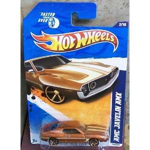 Wheels 142/244   Faster Than Ever 11 2/10   AMC Javelin AMX (Bronze