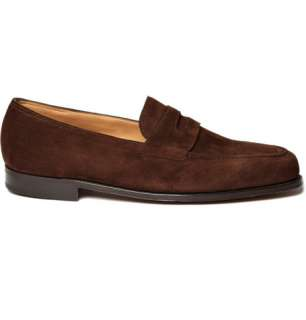Shoes  Loafers  Loafers  Lopez Suede Penny Loafers