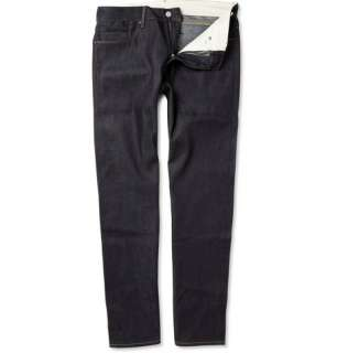 Levis Made & Crafted Dry Selvedge Tapered Fit Jeans  MR PORTER