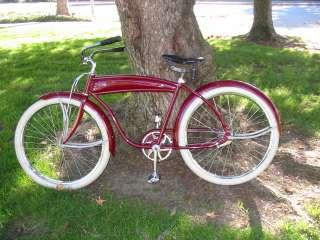Vintage 1940 Ward Hawthorne Balloon Tire Bike