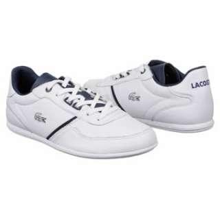 Mens Lacoste Wolcott PN SPM White/Dark Blue Shoes