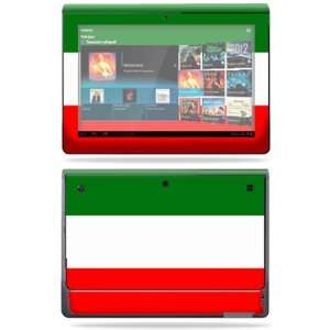 Vinyl Skin Decal Cover for Sony Tablet S Italian Flag Electronics