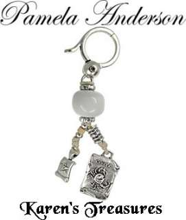 PAMELA ANDERSON Zodiac Purse Charm Key Chain CANCER NEW