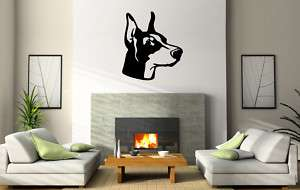 DOBERMAN PINSCHER DOG BREED WALL ART PICTURE D052
