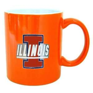 Illinois Fighting Illini NCAA 2 Tone Coffee Mug Sports