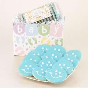Baby Boy Gift Basket   Baby Blue Gourmet Sugar Cookies