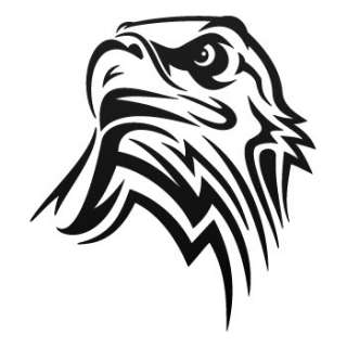 Phoenix Decal Sticker Eagle Hawk Truck Car Vinyl W7X92