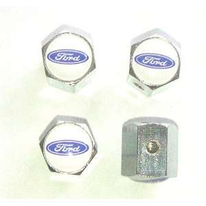 Ford Anti theft Car Wheel Tire Valve Stem Caps Automotive