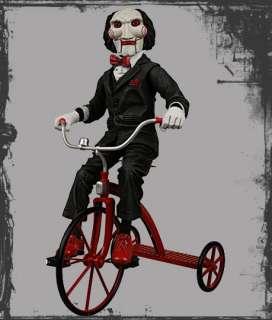 Saw Clown Puppe Billy on Tricycle 30 cm Figur Jigsaw
