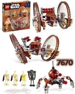 NEU LEGO Star Wars 7670 Hailfire Droid & Spider Droid™