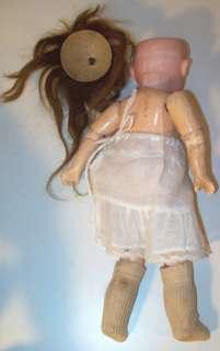 German Armand Marseille 390 Doll Blue Grey Sleep Eyes Fully Jointed