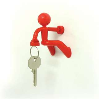 Key Pete The Magnet Man Super Strong Magnetic Red Key Holder Hook Rack