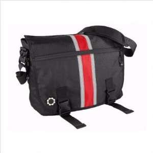 DadGear Center Stripe Messenger Bag (Red)   TinyRide Baby