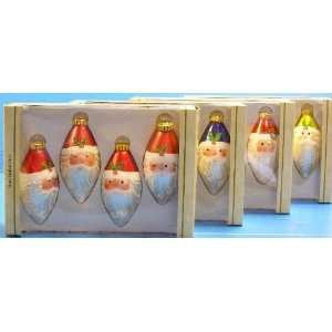 Sterling Christmas ornaments Santa Claus sale boxed