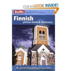 Berlitz Finnish Phrase Book & Dictionary (English and Finnish