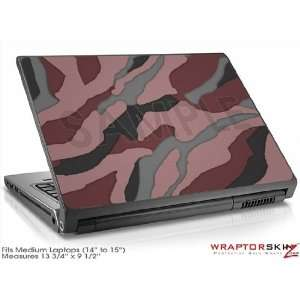 Medium Laptop Skin Camouflage Pink: Electronics