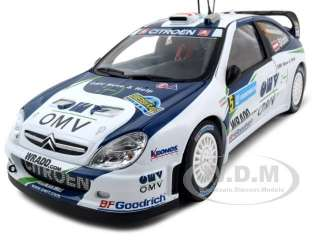 CITROEN XSARA WRC OMV KRONOS 5 M.STOHL/MINOR 1/18 RALLY