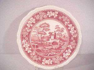 Copeland Spode Pink Tower Old Mark Salad Plate(s)