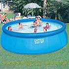 Intex 15 x 42 Easy Set Inflatable Swimming Pool