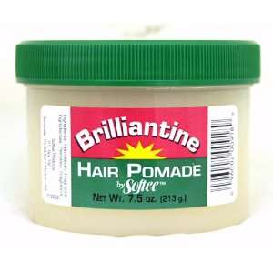 Softee Brilliantine Hair Pomade 7.5 oz Beauty
