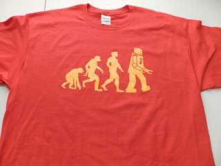 Theory Sheldon Cooper Einstein Evolution Red Funny T Shirt Ape