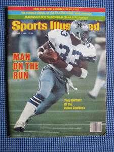 Sports Illustrated Dallas Cowboys Tony Dorsett 1981