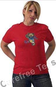 Grateful Dead Dancing Bear shirt DECAL iron on Transfer |