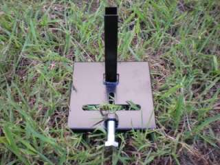 deer feeder foot anchor with t post whitetail turkey