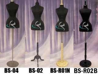 Mannequin Manequin Manikin Dress Form #FH02BK+BS WC01