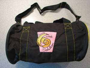 NEW CURVES 6 WEEK SOLUTION DUFFLE GYM BAG TOTE