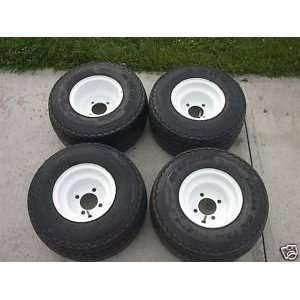 Used Golf Cart Tires and Rims fits Club Car models