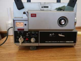 Elmo Sound ST 600 D M Super 8 8mm Film Projector