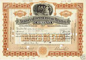 ARIZONA COMMERCIAL MINING COMPANY MAINE dd 1926