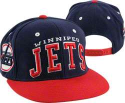 Winnipeg Jets Blue Super Star Snapback Hat