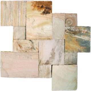MS International Fossil Rustic Sandstone Paver Kits (4 Pack) P