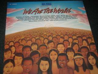 WE ARE THE WORLD MICHAEL JACKSON MUSIC RECORD ~ RARE