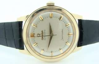 Rare OMEGA Seamaster 14K Gold 500 Automatic Watch