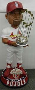 Cardinals World Series Champions 3 Foot Bobblehead Doll 36