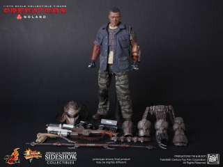 Sideshow Hot Toys Predator Noland Action Figure Alien 12 AVP NEW