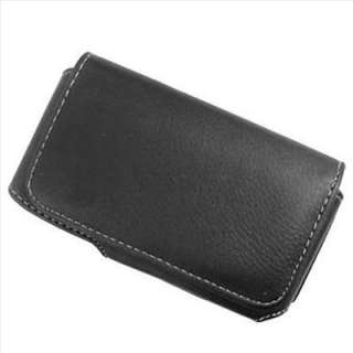 Black PU Leather Clip Case Pouch Holster for Pantech Hotshot 8992