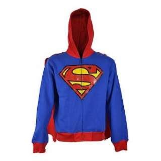 Superman Hoodie SUPER HOOD MEN blue  Bekleidung