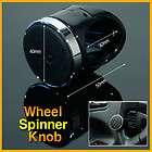 Black Simple Wheel Spinner Knob Car Steering Wheel Power Handle New